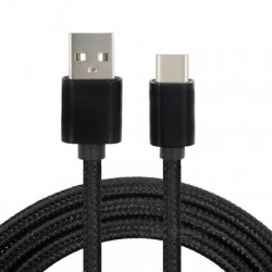 Minismile 3M 2.4A Fast Charge USB 3.1 Type-C to USB Male Charging / Data Cable