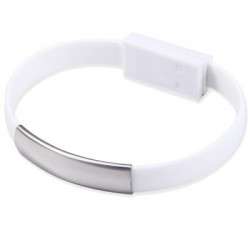 Bracelet Flat Micro USB to USB Data Charging Cable